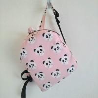 Mochila infantil pandas rosas