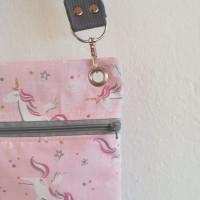 Bandolera pequeña unicornios rosa