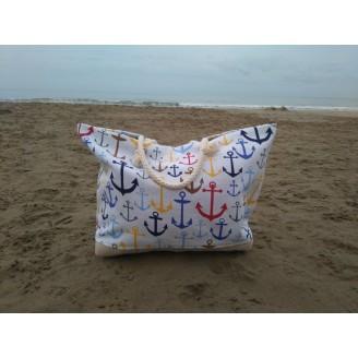 Bolsa de playa big anchor