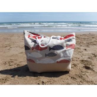 Bolsa de playa Big Fish