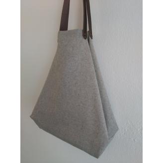 Bolso castaña gris