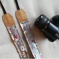 Correa para cámara Reflex de rosas
