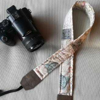 Correa para cámara Reflex sellos