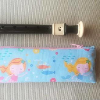 Funda para flauta sirenitas