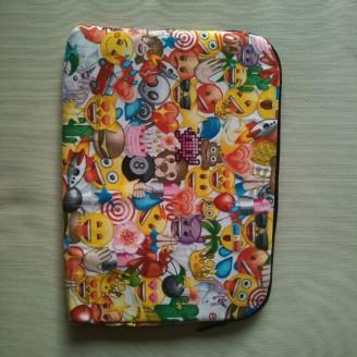 Funda para tablet o portátil emojis