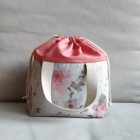 Lunch bag acuarela floral