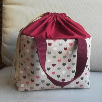 Lunch bag corazoncitos