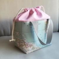 Lunch bag mapamundi