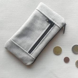 Monedero perfecto ancienne gris claro