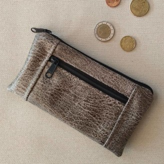 Monedero perfecto Buffalo gris