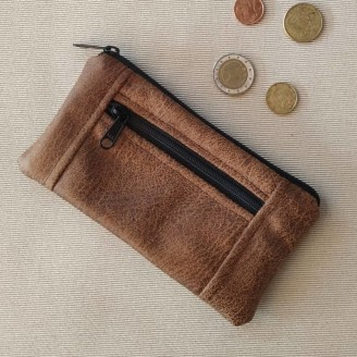 Monedero perfecto buffalo marron claro