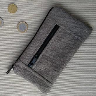Monedero perfecto cozy gris claro