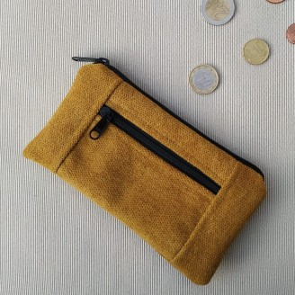Monedero perfecto cozy mostaza