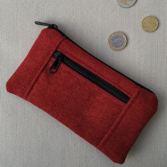 Monedero perfecto cozy rojo