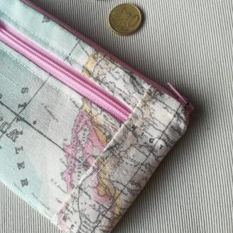 Monedero perfecto mapamundi