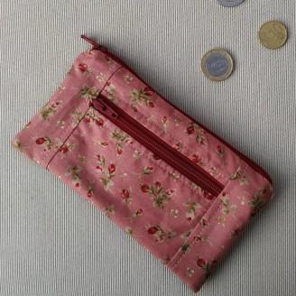 Monedero perfecto de rositas en rosa