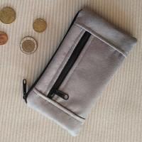 Monedero perfecto Texas gris plata