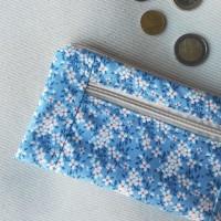 Monedero perfecto tilda daisy azul