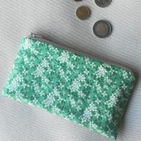Monedero perfecto tilda daisy mint