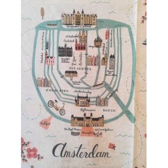 Portadocumentos amsterdam map