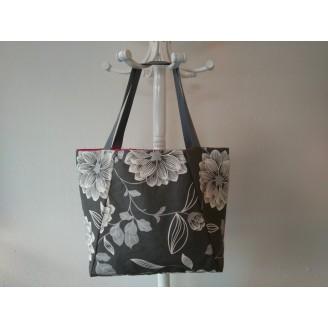 Shopper primavera gris