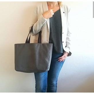 Shopper annciene gris oscuro